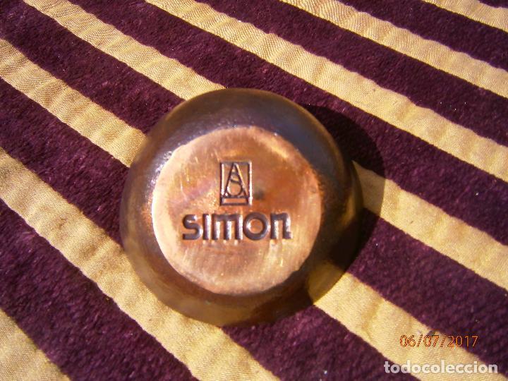 Ceniceros: Cenicero o pisapapeles publicidad marca simon - Foto 3 - 92324960
