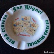Ceniceros: SAN MIGUEL CENICERO CON PUBLICIDAD DE CERVEZA SAN MIGUEL. Lote 96716139