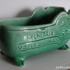 Ceniceros: VALLFOGONA DE RIUCORB (TARRAGONA) - ANTIGUO CENICERO DEL BALNEARIO. Lote 97161803