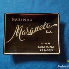 Ceniceros: ANTIGUO CENICERO DE HARINAS MARQUETA TARAZONA ZARAGOZA. Lote 98197839