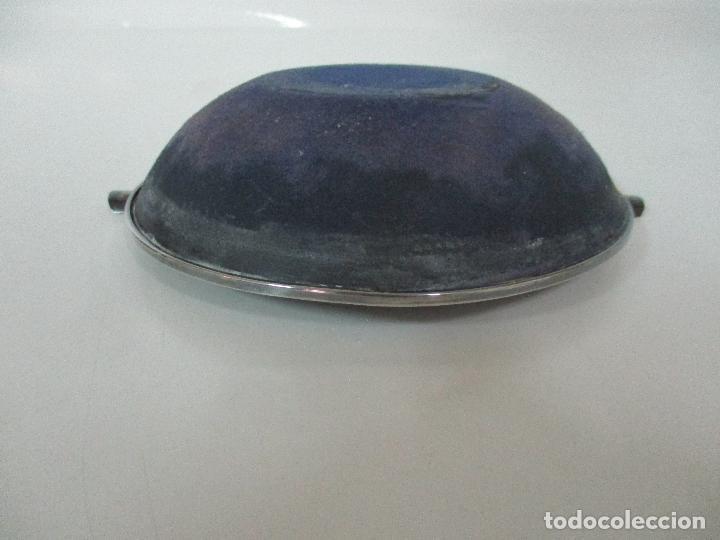 Ceniceros: Bonito Cenicero - Motivos Orientales - Plata de Ley - Esmaltada - Años 50 - Foto 10 - 102711063