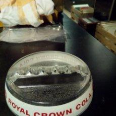 Ceniceros: CENICERO ROYAL CROWN COLA CRISTAL. Lote 103034519