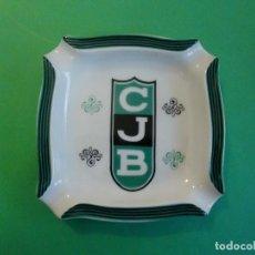 Ceniceros: CENICERO DE PORCELANA CLUB JOVENTUD BADALONA LA PENYA. Lote 109387059