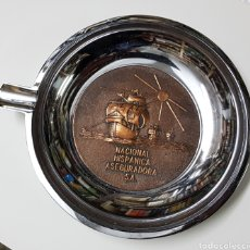 Ceniceros: CENICERO METAL - NACIONAL HISPANICA ASEGURADORA - CAR05. Lote 109401776