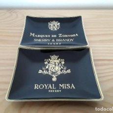 Ceniceros: CENICEROS BODEGAS MARQUÉS DE MISA . Lote 110151587