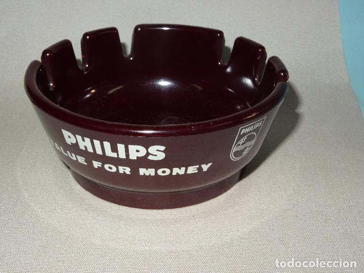 Ceniceros: Antiguo Cenicero de Baquelita Publicidad de PHILIPS Made in USA - Año 1940s. - Foto 4 - 110496323