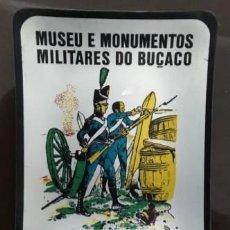 Ceniceros: CENICERO DE METAL. MUSEU E MONUMENTOS, MILITARES DO BUÇACO, PORTUGAL. CENICERO-44. Lote 113020091