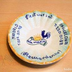 Ceniceros: CENICERO - RESTAURANTE LA MASIA. Lote 113534895