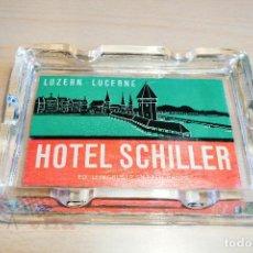 Ceniceros: CENICERO - HOTEL SCHILLER - LUZERN. Lote 113536131