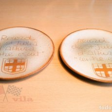 Ceniceros: CENICERO - RECORD DE ST JULIÀ D'ALTURA - CENTRE ESCUT. Lote 113536235