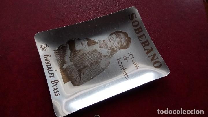 CENICERO PUBLICITARIO: SOBERANO (Coleccionismo - Objetos para Fumar - Ceniceros)