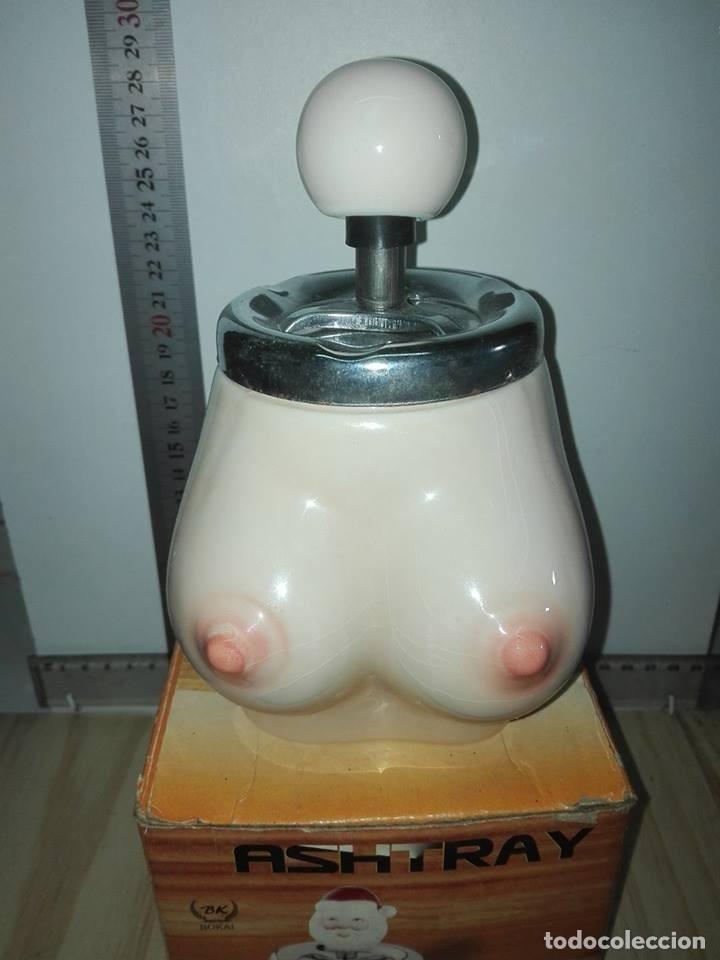 Ceniceros: Cenicero mecanico, motivo erotico - Foto 2 - 118459487