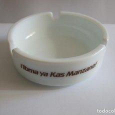 Ceniceros: CENICERO PUBLICIDAD TOMA YA KAS MANZANA - 10,5 CM DIAMETRO. Lote 119259271