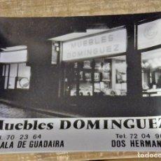 Ceniceros: DOS HERMANAS, ALCALA DE GUADAIRA, ANTIGUO CENICERO PUBLICITARIO DE MUEBLES DOMINGUEZ. Lote 120280799