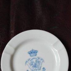 Ceniceros: CENICERO PALACE HOTEL MADRID DE PORCELANA.. Lote 127223647