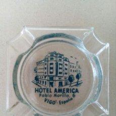 Ceniceros: ANTIGUO CENICERO HOTEL AMÉRICA. VIGO.. Lote 129379666