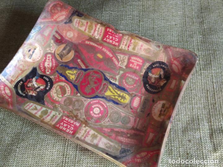 Ceniceros: Cenicero artesano con vitolas de puros y habanos - Foto 2 - 133701698
