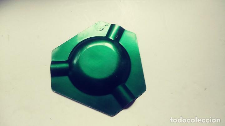 Ceniceros: cenicero verde aluminio anodizado Sastreria camiseria Elite - Foto 3 - 133773966
