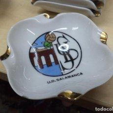Ceniceros: CENICERO DEL DESAPARECIDO EQUIPO DE FÚTBOL U.D.SALAMANCA.AÑOS 70.CERÁMICA.. Lote 134041054