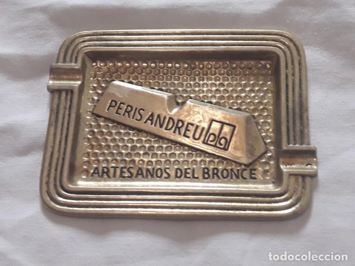Ceniceros: Cenicero Peris Andreu años 70 Artesanos del bronce - Foto 2 - 135503990