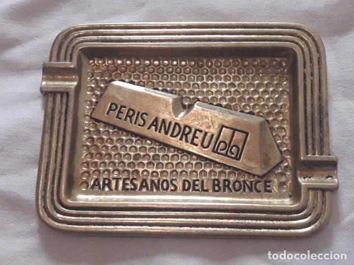 Ceniceros: Cenicero Peris Andreu años 70 Artesanos del bronce - Foto 6 - 135503990