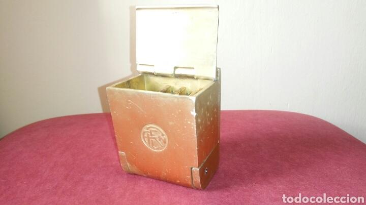 ANTIGUO CENICERO DE RENFE, LATON (Coleccionismo - Objetos para Fumar - Ceniceros)