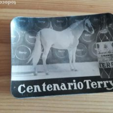 Ceniceros: CENTENARIO TERRY BRANDY CENICERO BANDEJA. Lote 139634638