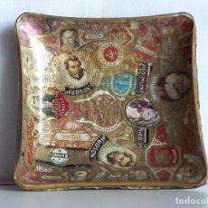 Ceniceros - Cenicero vintage de cristal con vitolas, años 60 - 140339134