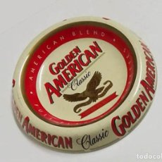Ceniceros: CENICERO GOLDEN AMERICAN. Lote 140339282
