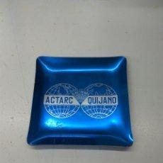 Ceniceros: CENICERO ALUMINIO ELECTRODOS ACTARC QUIJANO. Lote 140470541