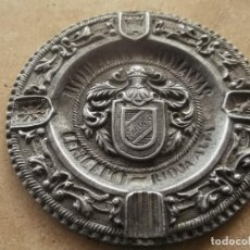 Ceniceros: ANTIGUO CENICERO ALUMINIO PUBLICIDAD BODEGAS RIOJANAS. R. ARTACHO RIOJA ALTA. Lote 140865594