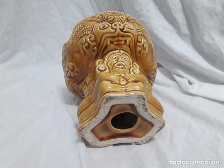 Ceniceros: Precioso cenicero de porcelana inspiración precolombina - Foto 6 - 143158998