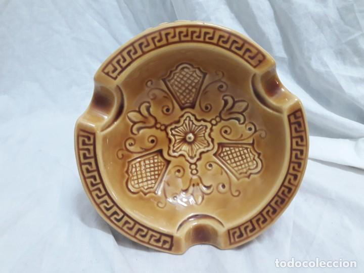 Ceniceros: Precioso cenicero de porcelana inspiración precolombina - Foto 8 - 143158998