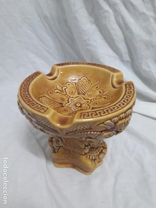Ceniceros: Precioso cenicero de porcelana inspiración precolombina - Foto 11 - 143158998