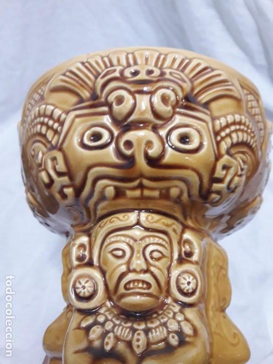 Ceniceros: Precioso cenicero de porcelana inspiración precolombina - Foto 12 - 143158998