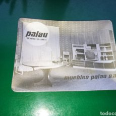 Ceniceros: ANTIGUO CENICERO METALIZADO DE MUEBLES PALAU, DE BENICARLÓ ( CASTELLÓN). Lote 144699422