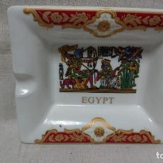 Ceniceros: CENICERO PORCELANA SOUVENIR DE EGIPTO . Lote 145190198
