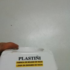 Ceniceros: CENICERO PUBLICIDAD PLASTIÑI. Lote 146174553