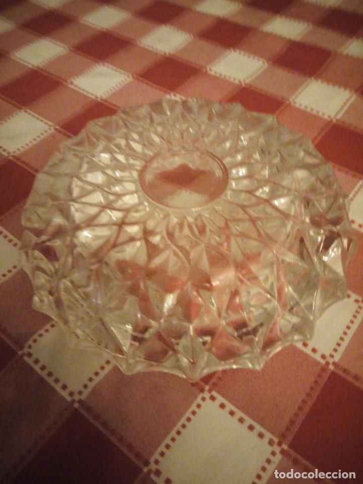 Ceniceros: Cenicero de cristal tallado. - Foto 3 - 146783034