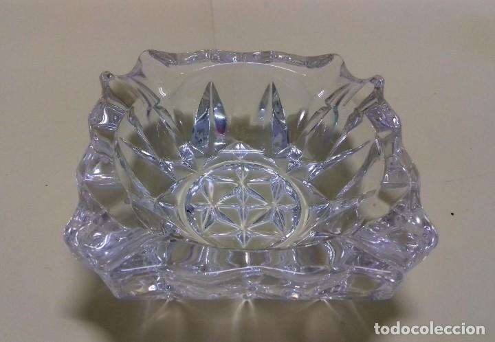 Ceniceros: Cenicero cristal prensado. - Foto 2 - 147944118