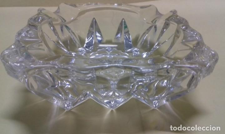 Ceniceros: Cenicero cristal prensado. - Foto 3 - 147944118