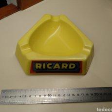 Ceniceros: CENICERO PUBLICITARIO DEL LICOR RICARD. MODELO GRANDE. Lote 150641145