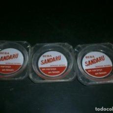Ceniceros: CENICERO SANDARU 3 UNIDADES. Lote 151145070
