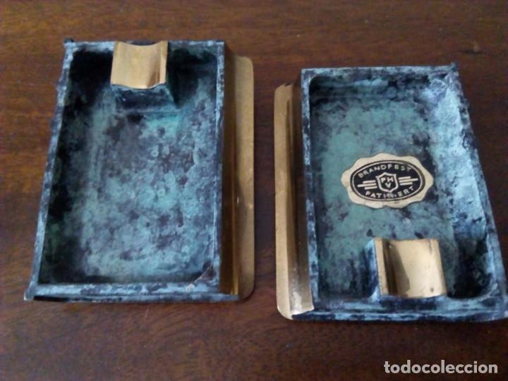 Ceniceros: Cenicero de bronce en forma de libro. Codex Fumandi. Ver fotos. - Foto 2 - 151903758