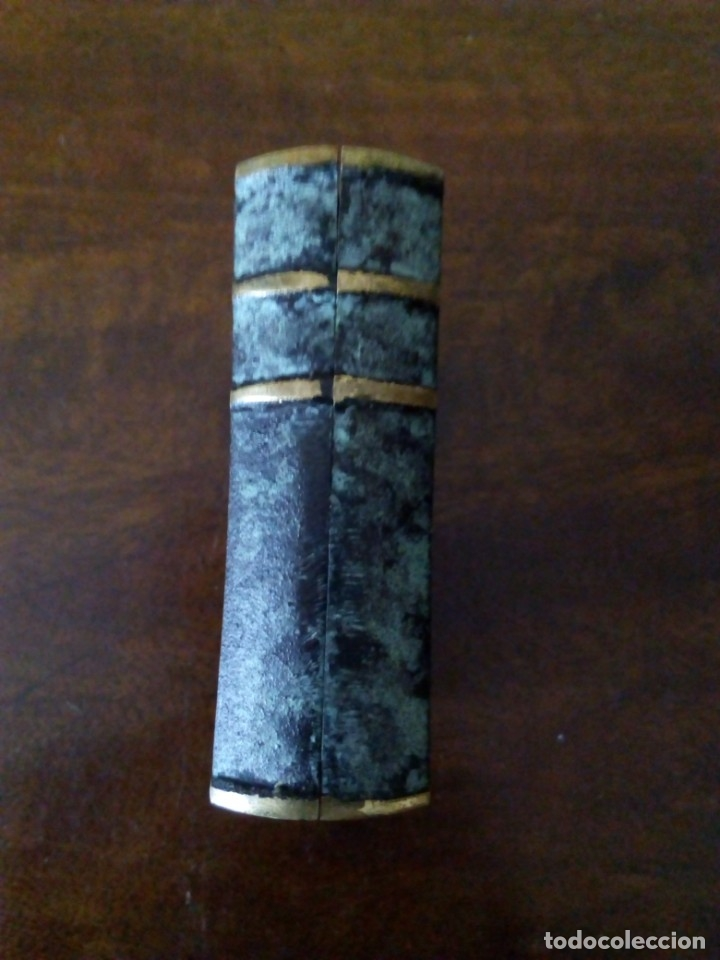 Ceniceros: Cenicero de bronce en forma de libro. Codex Fumandi. Ver fotos. - Foto 3 - 151903758