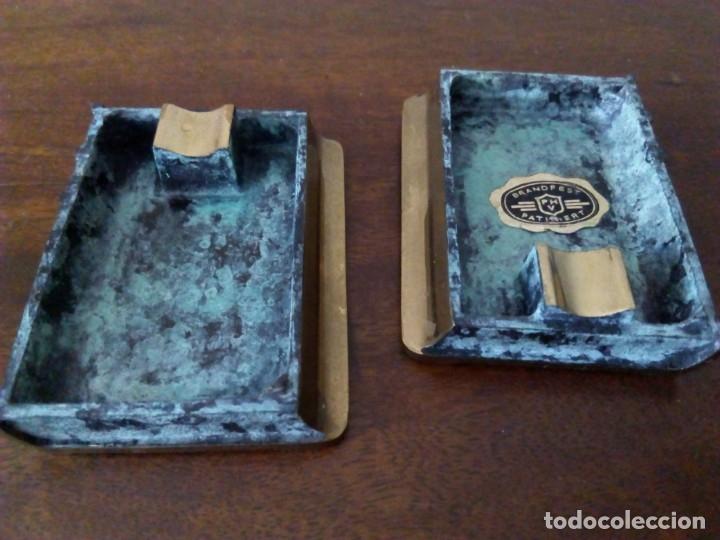 Ceniceros: Cenicero de bronce en forma de libro. Codex Fumandi. Ver fotos. - Foto 7 - 151903758