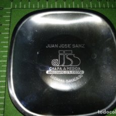 Ceniceros: ANTIGUO CENICERO JUAN JOSE SANZ LUCHANA BARACALDO. Lote 152022558