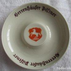 Ceniceros: CENICERO - HERRENHAUSER PILSENER - 15 CM DE DIAMETRO, FABRICACIÓN ALEMANA DE EMIL SAHM GRENZHAUSEN. Lote 152899238