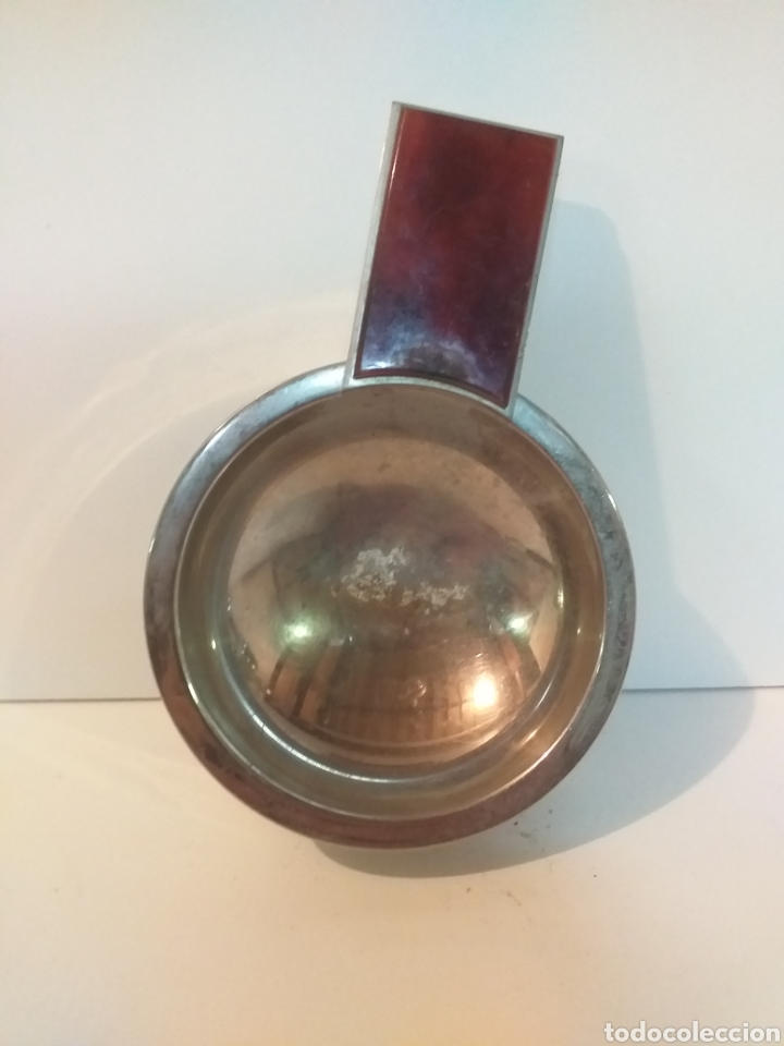 Ceniceros: Raro cenicero vintage. Con asa - Foto 2 - 155513360