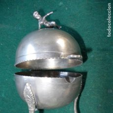 Ceniceros: CENIZERO ANTIGUO CON FIGURA DE NIÑO. Lote 155898914
